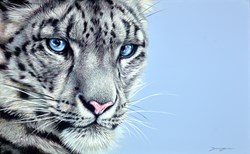 Watching You by Darryn Eggleton - Original Painting on Box Canvas sized 26x16 inches. Available from Whitewall Galleries